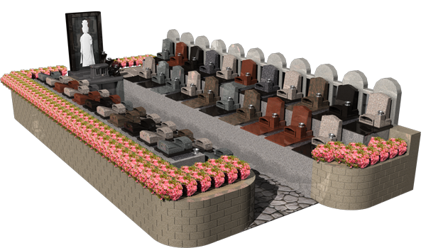 永代供養墓「偲」「祈り」
